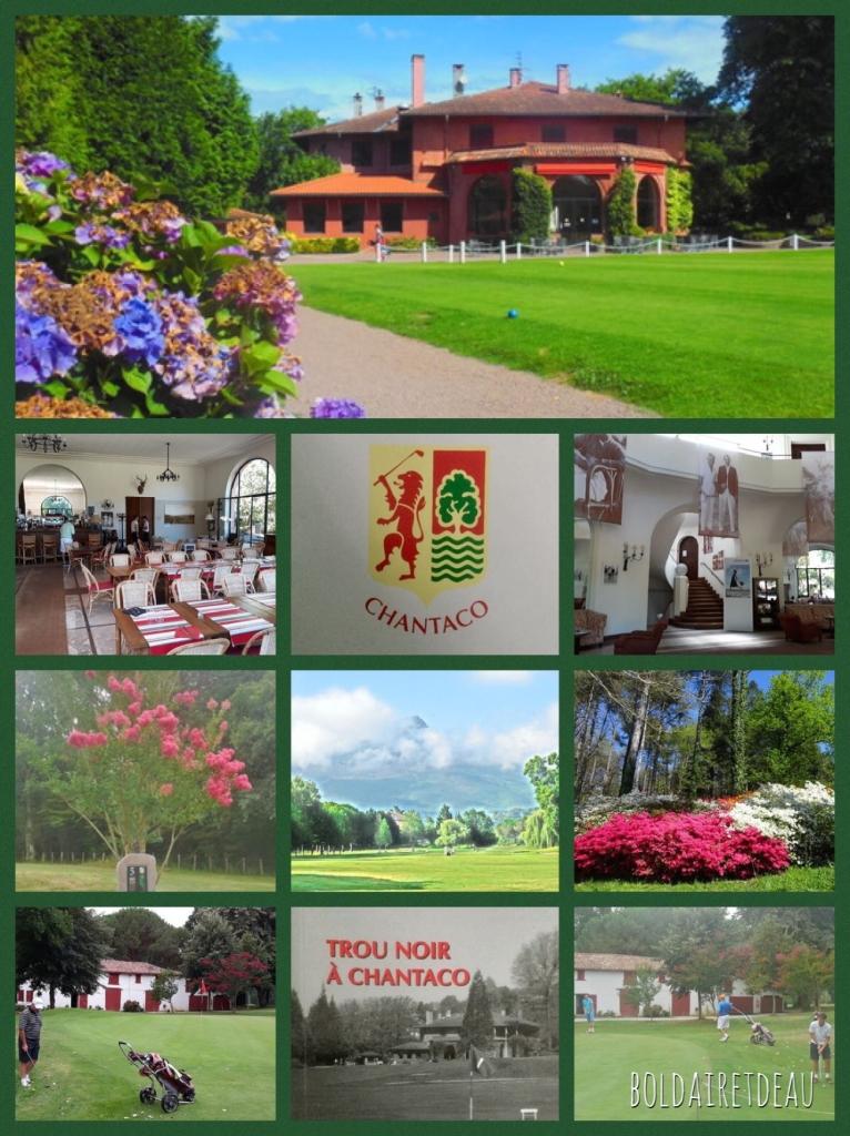 Collage sur le golf de Chantaco