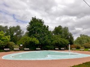 la pataugeoire de la piscine de Poissy