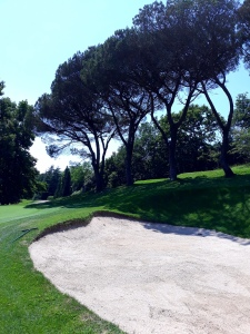 Pins parasols au golf de Chantaco