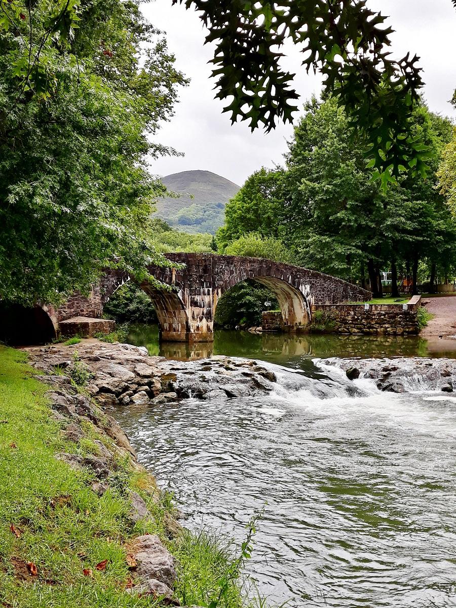 le pont romain à Ascain