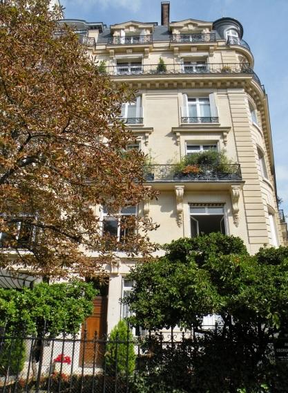 Immeuble ou décéda Maria Callas au 36 avenue Georges Mandel