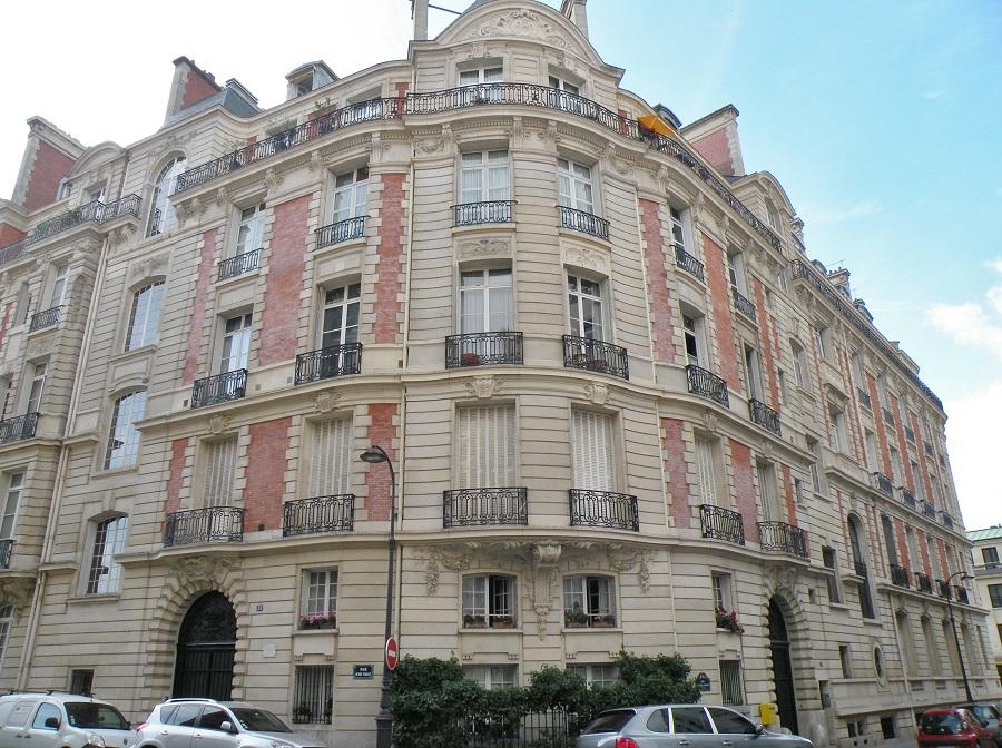 Andre Citroën a vecu rue octave Feuillet Paris 16