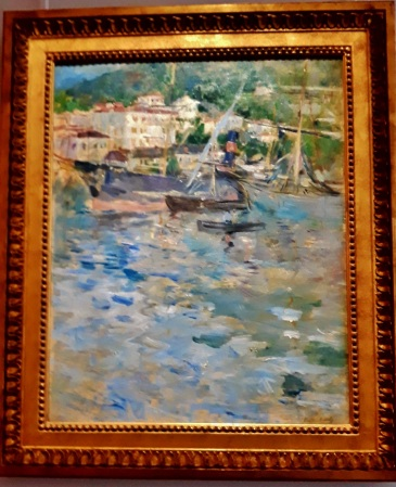 Le port de Nice 1882