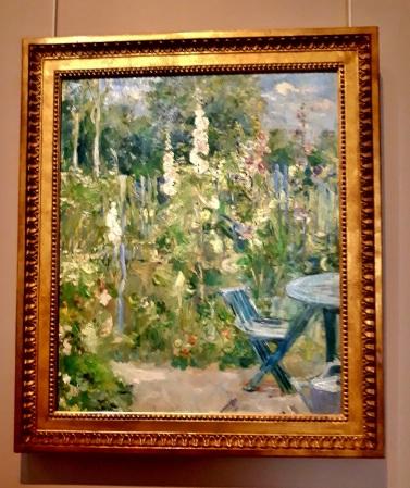 Roses Trémieres 1884
