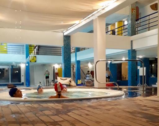 jacuzzi de la piscine de Biarritz