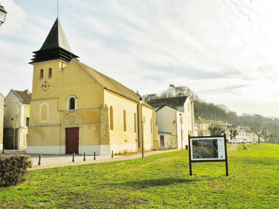 Eglise Saint Nicolas à la Frette
