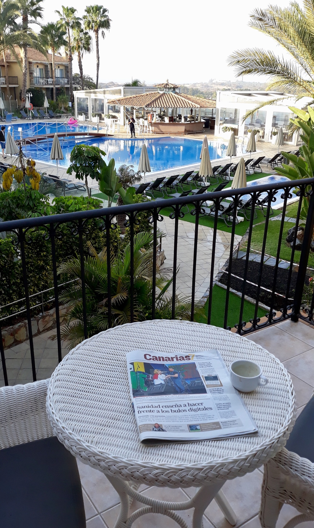 Piscine de l'hôtel Vital suites à Gran Canaria