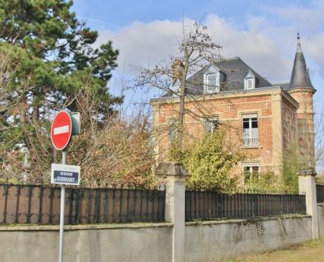 Avenue Rembrandt au Vésinet