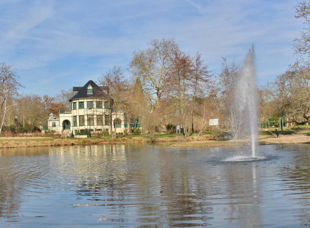 le lac des Ibis au Vesinet