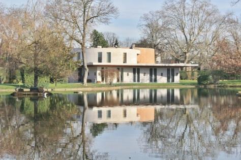 villa sur le lac inferieur Vésinet