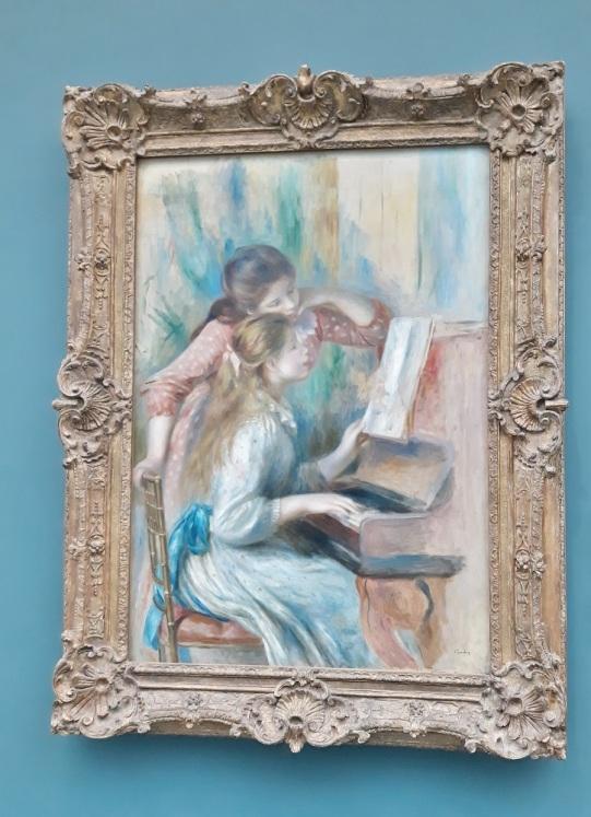 P.A.Renoir ; jeunes filles au piano