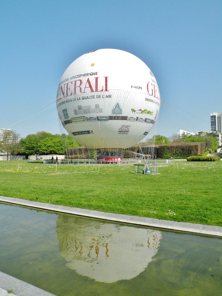 Ballon à Helium du Parc André Citroën