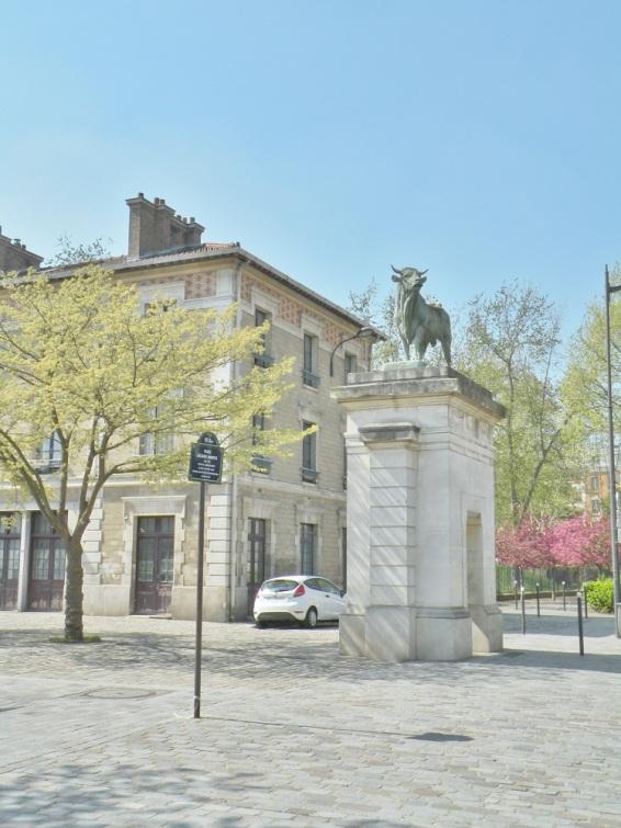 entrée du parc Georges Brassens