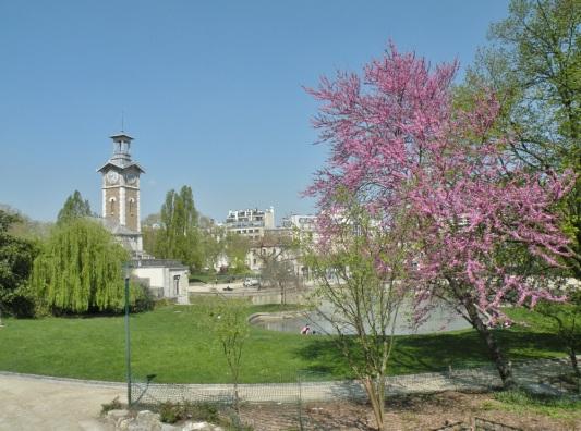 vue generale du parc G. Brassens
