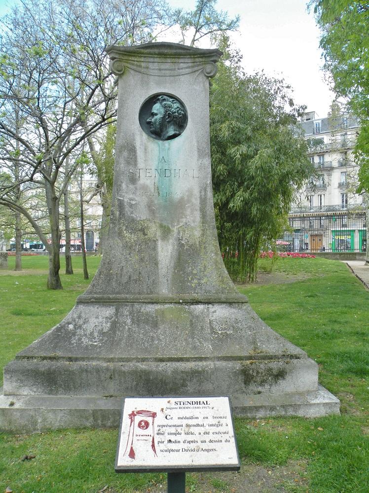 Stendhal sculpté par Rodin