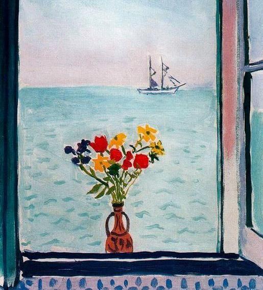 Albert Marquet - La ventana en La Goulette